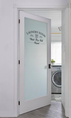 A few months back we bought a new washer and dryer set and I've been antsy ever since to give our very sad laundry room a makeover! Wouldn't this space designed by Cynthia Soda of Toron…
