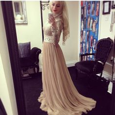 Gorgeous dress on Rima Tadmory