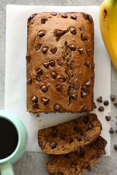 "VIDEO: Whole Wheat Coconut Oil ""Roasted Banana"" Bread (+ exciting news)"
