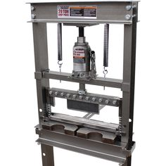 """SWAG Off Road 20 TON Finger Brake""""Fully Welded"""" - Price was right, fast delivery, works great. Metal Bending Tools, Metal Working Tools, Metal Tools, Garage Tool Storage, Garage Tools, Welding Shop, Welding Table, 20 Ton Hydraulic Press, Shop Press"""