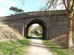 Martin Bridge, the Woodhall Trail runs along part of the old Railway Line between Horncastle and Woodhall Spa Outdoor Bars, Spa Parts, Disused Stations, Trail Running, Buses, Bridges, Walks, Lincoln, Trains