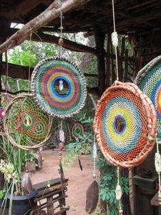 melted bead suncatchers | Melted Bead Sun Catchers