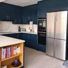 An Innova Norton Cobham Blue Shaker Kitchen