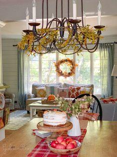 Decor, Living Room Furniture, Farmhouse Decor, Autumn Home, Country Decor, Living Room Decor, Cottage Decor, Home Decor, Fall Living Room