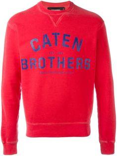 DSQUARED2 Caten Brothers sweatshirt. #dsquared2 #cloth #sweatshirt