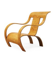 Gerald Summers, sculpture chair, 1933. Makers of Simple Furniture, London.