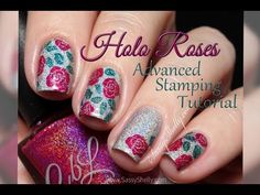 Digit-al Dozen - Spring ~ Advanced Stamping Holo Roses | Sassy Shelly