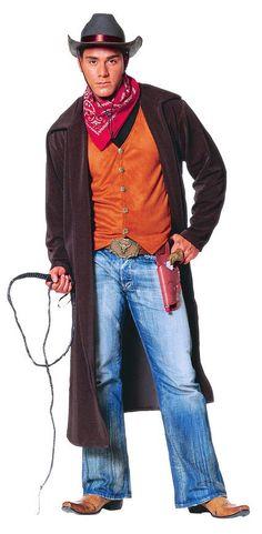 Mens Gun Slinging Cowboy Adult Costume - Mr. Costumes