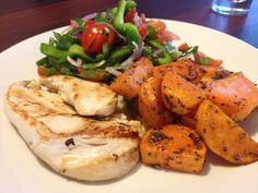 Grilled Chicken with Greek Sweet Potatoes | fastPaleo Primal and Paleo Diet Recipes
