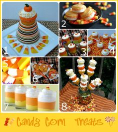 Candy Corn Treats for Halloween