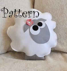 Sheep Pillow Pattern