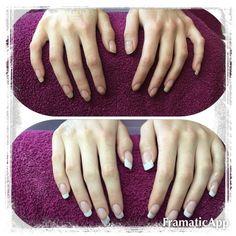 Model nails , Cnd , gel nails