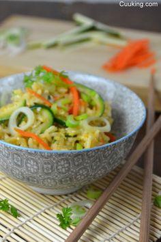 Arroz thai con verduras | Cocinar en casa es facilisimo.com
