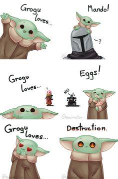 Star Wars Jokes, Star Wars Comics, Star Wars Rebels, Jagodibuja Comics, Yoda Images, Ahsoka Tano, Yoda Funny, Star Wars Drawings, Sherlock