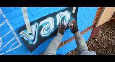 #dePvan @depaladijn - Dalton School Deventer // Muurschildering // Egbert.EGD - http://depvan.nl http://egbertegd.nl