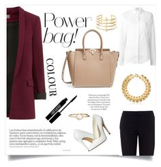 """""""Power Bag!"""" by narchilla ❤ liked on Polyvore featuring Michael Antonio, Chloé, Valentino, Trina Turk, Anthony Vaccarello, Lord & Berry, BauXo, Gucci and Accessorize"""