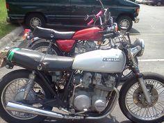 1973 Kawasaki kz650 and 1979 Kawasaki kz440