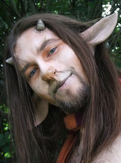 Makeup for faun or centaur or other creatures