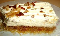 ΕΚΜΕΚ ΚΑΤΑΙΦΙ Greek Sweets, Greek Desserts, Greek Recipes, Italian Recipes, Greek Cooking, Rustic Kitchen, Vanilla Cake, Cookie Recipes, Deserts