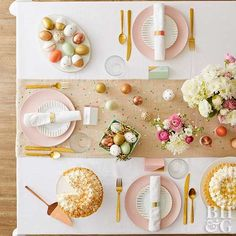 Pretty tablescape #littlewonders