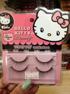 Hello Kitty Beauty False Eyelashes #HelloKitty #HelloKittyBeauty #FalseEyelashes