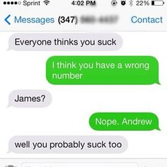 And this equally savage moment. | 29 Text Messages That Are Funny Every Single Time
