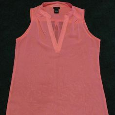 Bright pink, sleeveless shirt Very light, sheer top from Rue 21. Worn once and in good condition, like new. Pictures don't quite show off how bright it really is Rue 21 Tops Tank Tops