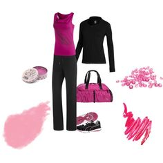 A fashion look from April 2012 featuring Puma, yoga activewear and sexy shirts. Browse and shop related looks. Cute Workout Outfits, Workout Wear, Cute Outfits, Mode Yoga, Fitness Fashion, Fitness Outfits, Sexy Shirts, Moda Fitness, Sporty Look