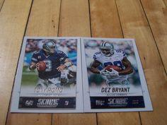 #TonyRomo #DezBryant #2014Score #DallasCowboys 2 Card Lot | #eBay #Cowboys #Texas #footballcards #NFL