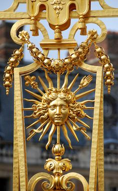 Sun King central, Versailles France