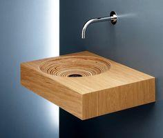 Encimeras de madera :: Las encimeras de baño son un complemento ideal para completar la decoración de un cuarto de baño. Los lavabos son unos de los puntos fuertes del cuarto de baño, y las encimeras le dan gran parte de la personalidad que éstos trasmiten.
