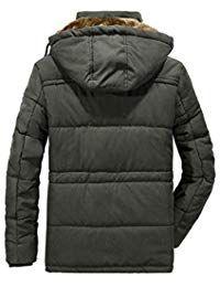 66335a30e47c Men Coat Warm Down Jacket Fleece Thick Winter Hooded Coat Outwear Parka