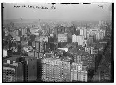 View from 33rd floor of Met. Bldg.,N.W., New York