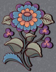 Galaxy S8 Wallpaper, Wallpaper Backgrounds, Flower Images, Flower Art, Big Flowers, Beautiful Flowers, Textile Design, Textile Art, Mexican Folk Art