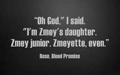 From Blood Promise
