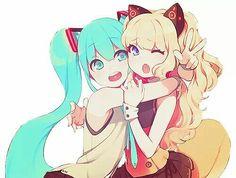 Miku and seeU