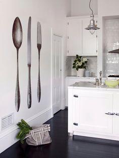 Gli adesivi murali per la cucina | Industrial and Interiors