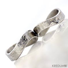 Infinity wedding ring womens ring mens ring  Hand forged by KREDUM, $66.00