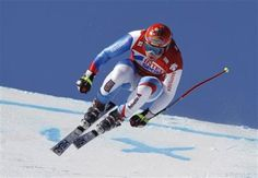 "Didier Cuche on ""la Verte"" in Chamonix"