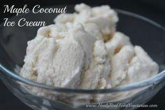 maple coconut ice cream