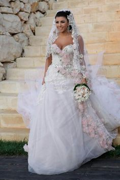 Lebanese wedding dress
