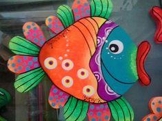 D la web Christmas Images, Christmas Art, Fish Pillow, Fish Coloring Page, Turtle Painting, Class Decoration, Coastal Art, Animal Decor, Fish Art