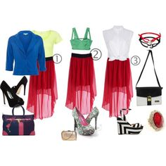 Chic Find Of The Week: 3 Ways 2 Wear Your High Low Skirt - chic from hair 2 toe