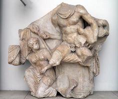 Telephos Frieze, South Wall, Pergamon Altar, Pergamon Museum, Berlin | by Following Hadrian
