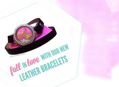 New Leather Wrap bracelets by Origami Owl! Available 8/18!!