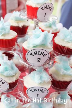 Cat in the Hat Birthday Party Ideas for Kinslers 2nd birthday party