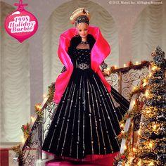 Sierras first barbie(: 1998 Holiday Barbie