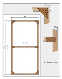 Make your own (Hollywood) flats for indoor/outdoor scenes.