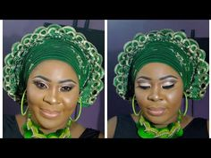 How to tie the June Ambrose turban - YouTube