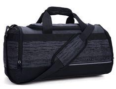 88051254dfba 20 Inch Gym Bag with Shoe Compartment Men Duffel Bag Medium Black - 40L -  C3120NEWAA5